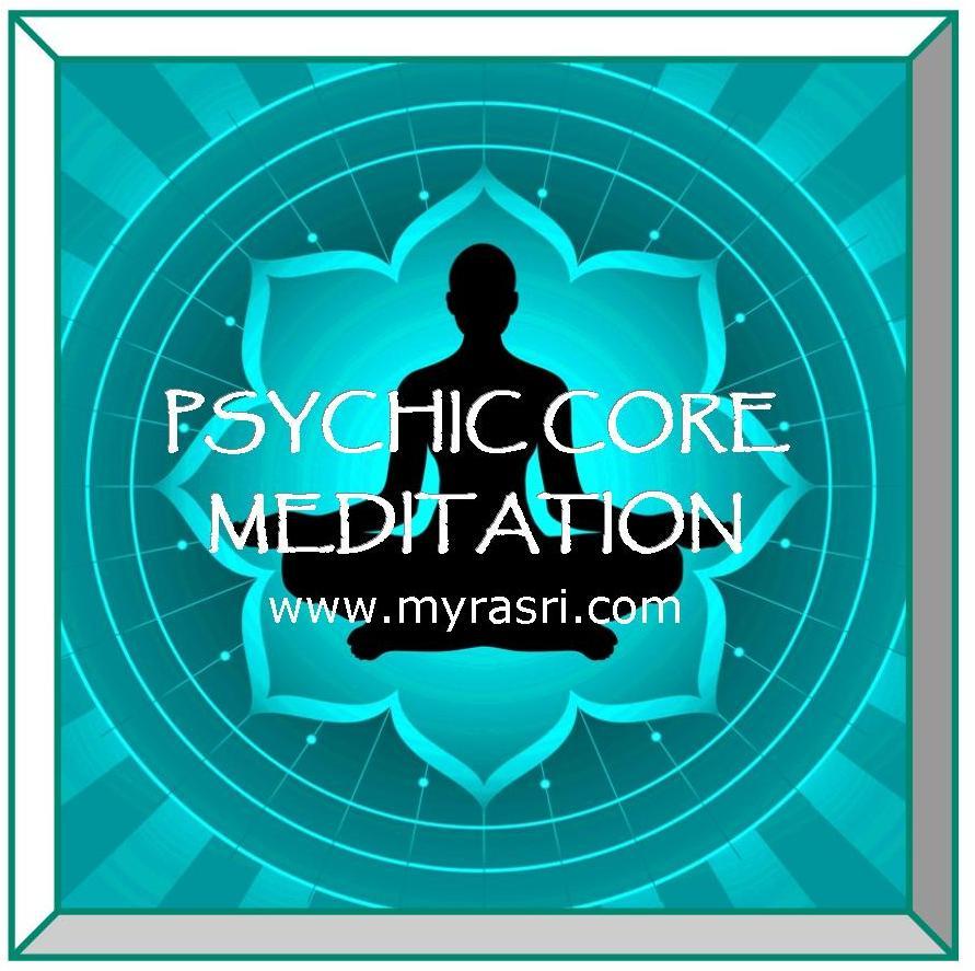 PSYCHIC CORE MEDITATION ICON